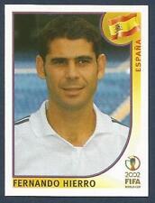 PANINI KOREA/JAPAN WORLD CUP 2002- #101-SPAIN-ESPANA/REAL MADRID-HERNANDO HIERRO
