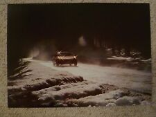 1979 Porsche 928 Coupe Showroom Advertising Sales Poster RARE!! Awesome 15x11