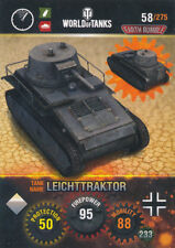 Panini World of Tanks Trading Cards - Nr. 58 - Name: Leichttraktor