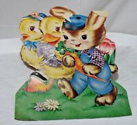 Vintage Hallmark Juvenile Easter Cards Standi 1946