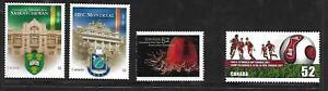 3+1 x Canadian 2007 MUH 2 Bklt 1 Sht stamps + 1 used (Uni's) ($1.85 Bargain)