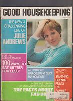 Good Housekeeping Magazine May 1970 Julie Andrews Hugh Cave