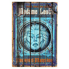 Disney Parks The Haunted Mansion Madame Leota Wooden Sign