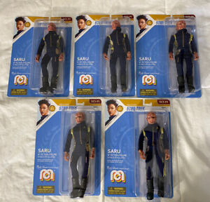Mego Star Trek Discovery SARU 8 Inch Action Figure Lot Of 5 SCI FI