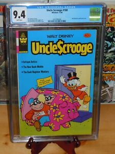 Uncle Scrooge #180 CGC 9.4 (Whitman, 11/1980) White pages (Low Distribution)