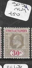 MALAYA STRAITS SETTLEMENTS (PP1201B) KE 30C  SG 134  MOG