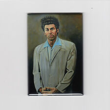 "KRAMER PAINTING / SEINFELD 2"" X 3"" POSTER MAGNET (art print the tv vintage retro"