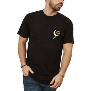 Camisetas Hombre  VANS AFTER PARTY SS COLOR NEGRO BLACK