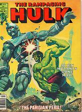 Rampaging Hulk #2 - Magazine Robot In Paris Battle - (VF) 1977