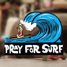 Pray for Surf Aufkleber Sticker Autocollante Pegatina Hawaii Surf Surfing