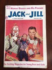 """1960 Howdy Doody, """"Jack & Jill"""" Magazine (Buffalo Bob Smith)"""