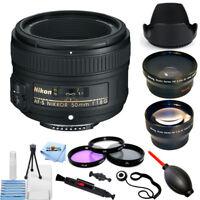 Nikon AF-S NIKKOR 50mm f/1.8G Lens #2199 PRO BUNDLE