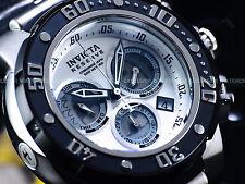 "New Invicta 52mm Reserve ""PANDA"" Subaqua Dragon Swiss Z60 Chronograph SS Watch"