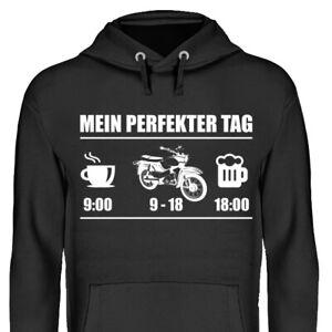 Mein perfekter Tag - Simson Star Hoodie Kapuzenpullover DDR Geschenk Pullover