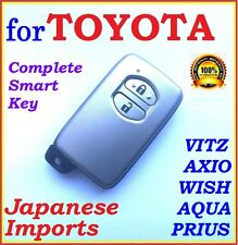 TOYOTA SMART KEY VITZ PRIUS AQUA BELTA - TWO BUTTONS - JAPANESE IMPORTS