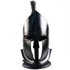 300 Leonidas Spartan Helmet Greek Trojan Achilles Black