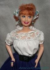 1999 Barbie Classic I Love Lucy Italian Movie Episode Doll w/Outfit & Stand