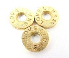 3 x Genuine Lovelinks Sterling Silver and Gold Plated Spacers - AAGAARD