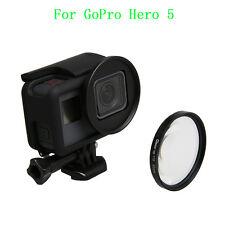 TT New 52mm HD Close-Up Macro Lens+10 Filter+Len Adapter For GoPro Hero 5 Camera