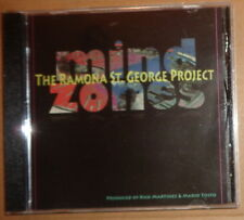 Ramona St. George Project : Mind Zones CD Album  - Wprds/Music, Mario Tosto 2010