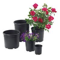 1,2,3, 5 Gal / Pro-Cal SZ Trade High Quality Black Plastic Nursery Container POT