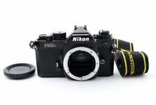 Nikon FM3A Black 35mm SLR Film Camera Body w/Strap Very good From Japan #550495
