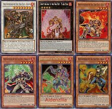 Yugioh Fire Fist Deck - Tiger King, Kirin, Coyote, Bear, Snake, Swallow, Yoko
