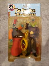 McFarlane THE BEATLES Yellow Submarine Action Figure George & Snapping Turk NEW