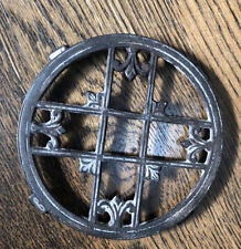 Victorian Iron Footed Trivet Griswold?