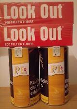 2 Ds. PL 88 gelb Virginia Blend Full Flavour 200 g  Zigarettentabak & 400 Hülsen