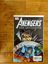 Marvel Avengers The Initiative #9 Unread Condition 2008
