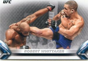 2018 Topps UFC Knockout ROBERT WHITTAKER Base Card No 4 IMAGE VARIATION SP