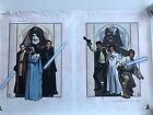 Star Wars New Hope / Revenge of the Sith SIGNED Lithograph Robert Hendrickson C4