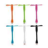 Air Cooler Multi-color USB Mini Fan Portable Flexible for Computer Laptop