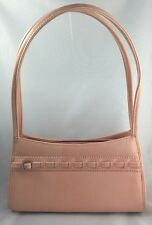 Purse Handbag Light Pink Faux Leather Hip Made in China