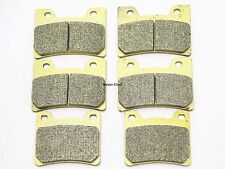 Front Rear Brake Pads For Yamaha V-Max 12 Vmax FJ 1200 FZR YZF 600 1000 FA160-88