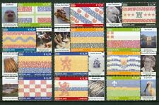 Nederland NVPH 2065-2076 Provincievlaggen losse zegels 2002