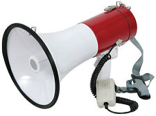 Adastra MG-220D High Power Megaphone 30W Siren Sound PA System Sports School