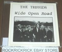 THE TRIFFIDS - WIDE OPEN ROAD -2 TRACK VERY RARE CD VOL 16/25 🍄MUSHROOM 25