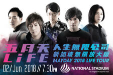 Selling 2 Cat 1 Mayday 2018 Life Tour Concert Tickets