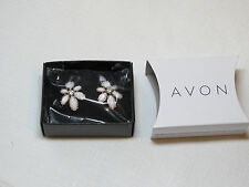 Ladies Womens Avon Floral Clusters Oversized Stud Earrings F3912771 NIP;;