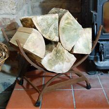Tradizionale ghisa Log in metallo culla del Negozio
