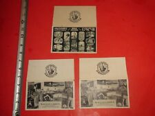 JA958 Vintage LOT of 3 Envelopes Ad Kodak Photos Willoughby's NY