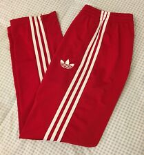 Adidas Originals ADI-Firebird Track Pants Red White Size M X46182 ~