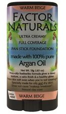 Factor Naturals Warm Beige #227 Pan stick foundation w/Argan oil(not max factor)