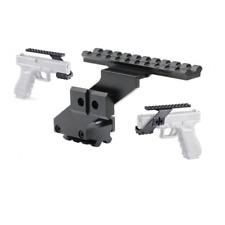 Picatinny Optik Montage für Pistolen z.B. H&K USP Sig Beretta Colt 1911 etc.