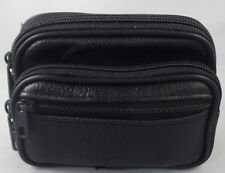 Genuine Leather Coin Purse for Women and Men, Belt Waist Pouch, 3