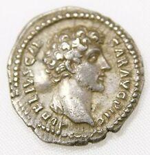 Marcus Aurelius. As Caesar, AD 139-161. AR Denarius (18mm, 2.95 gm). Rome mint