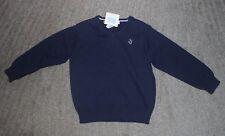 Janie and Jack Boys Navy Sweater - Size 6 - NWT