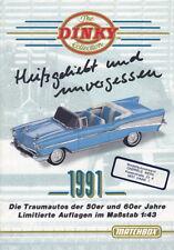 """Matchbox """"Dinky"""" Katalog 1991 deutsch"""